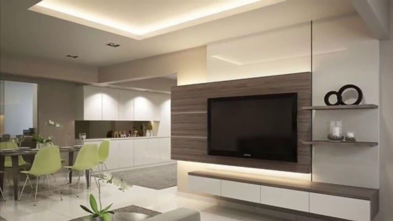 20+ Living Room Tv Wall Ideas   MAGZHOUSE