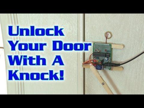 Unlock Your Door With A Knock Knock Knock Hidden Rooms Hidden Storage