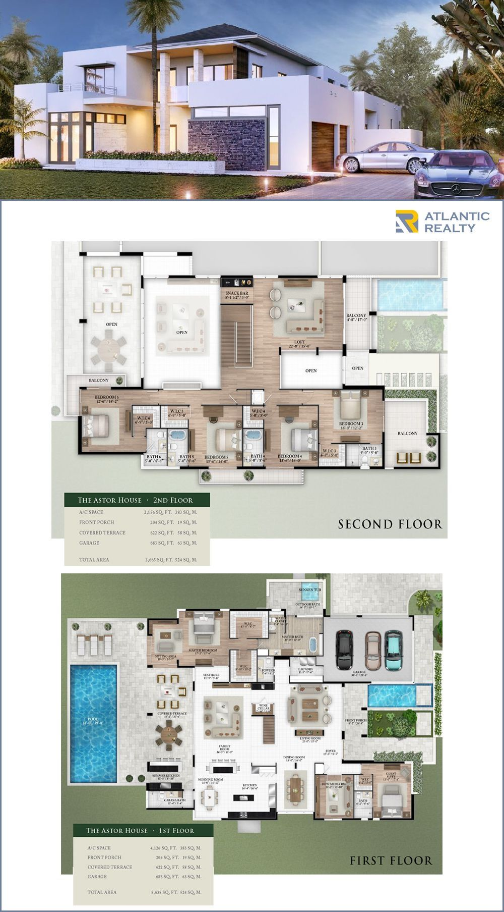 Oak Park New Miami Florida Beach Homes Florida House Plans House Plans Mansion Sims House Design