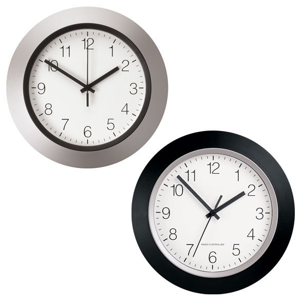12 In Atomic Clock Atomic Wall Clock Clock Wall Clock