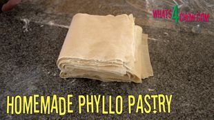 Homemade Phyllo Pastry. How to Make Perfect Filo / Fillo / Phyllo Pastry the Easy Way!!!