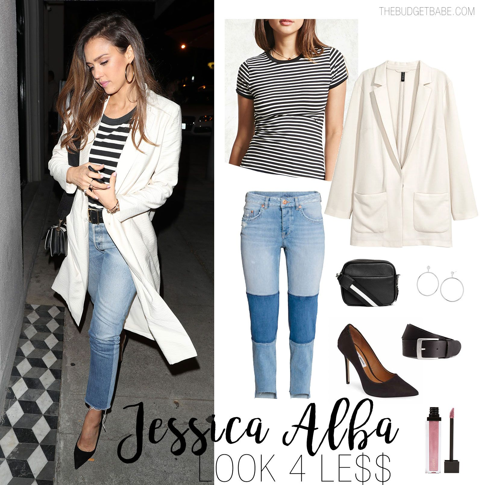 Get the less for look jessica alba exclusive photo