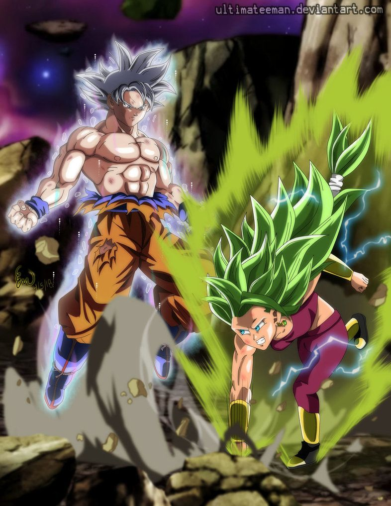 Goku Vs Kefla Rematch By Ultimateeman Dragon Ball Art Goku Vs Dragon Ball Super Art