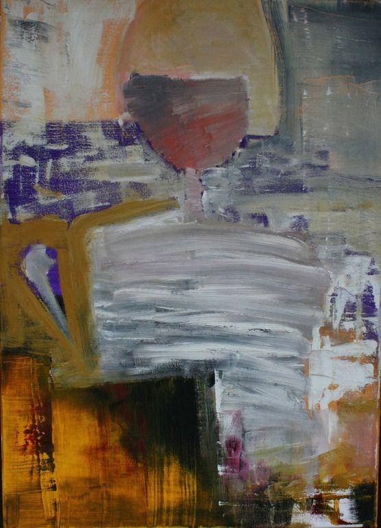 "Marton Bende; Oil, 2013, Painting ""carnival #1"""
