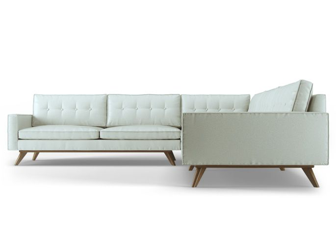 Tufted Sofa Thrive Home Furnishings Mid Century for the Modern Heart