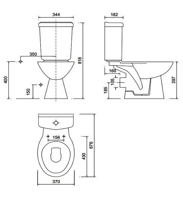 Standard Wc Size Google Search Interior Architecture Design