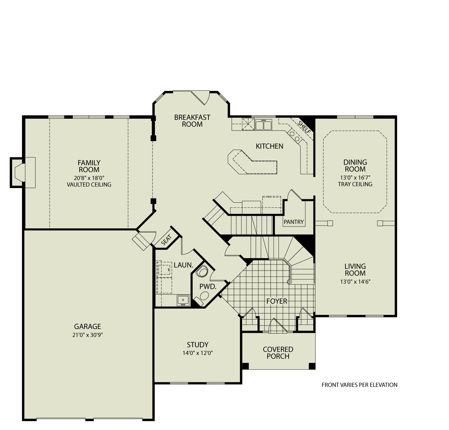 Hartwicke 142 drees homes interactive floor plans for Custom dream house floor plans