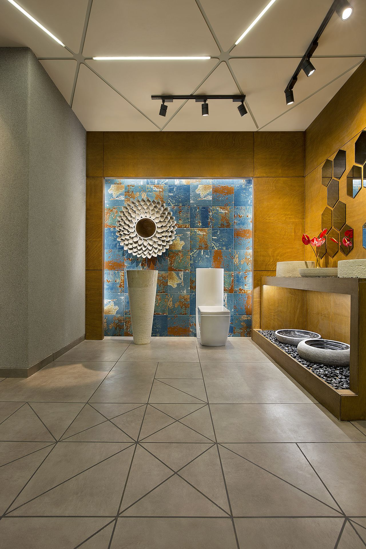 The ceramic shoppe    associates also mr kashyap pkadia  bhk house interiors design pune by trendy rh pinterest
