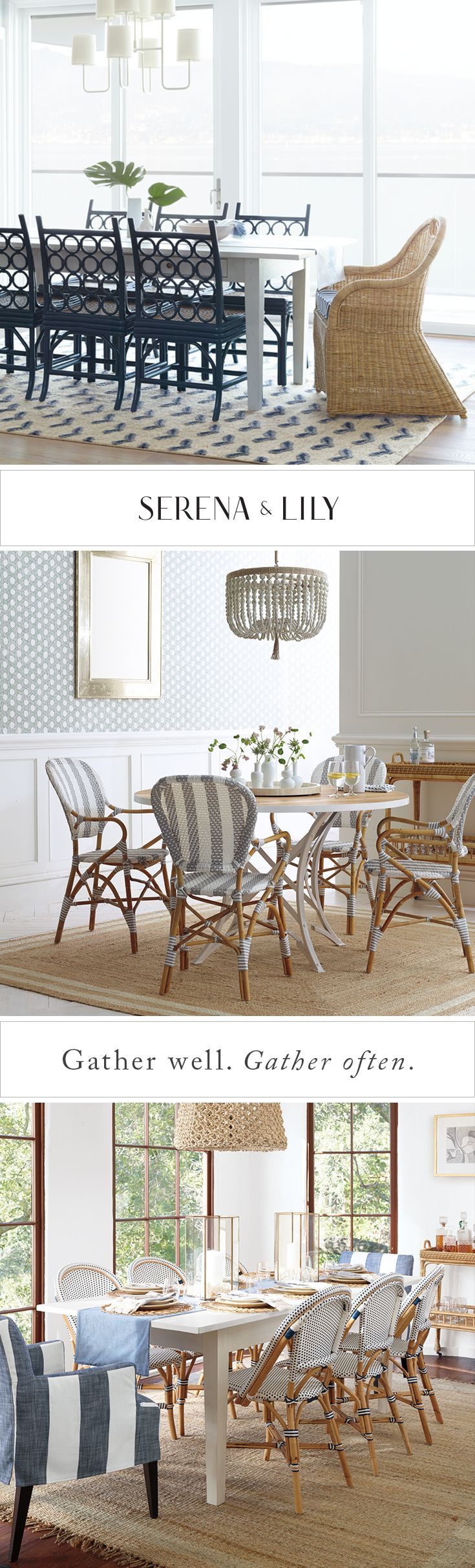 Relaxed and polished. Everything you need to make a sophisticated table that feels like home.
