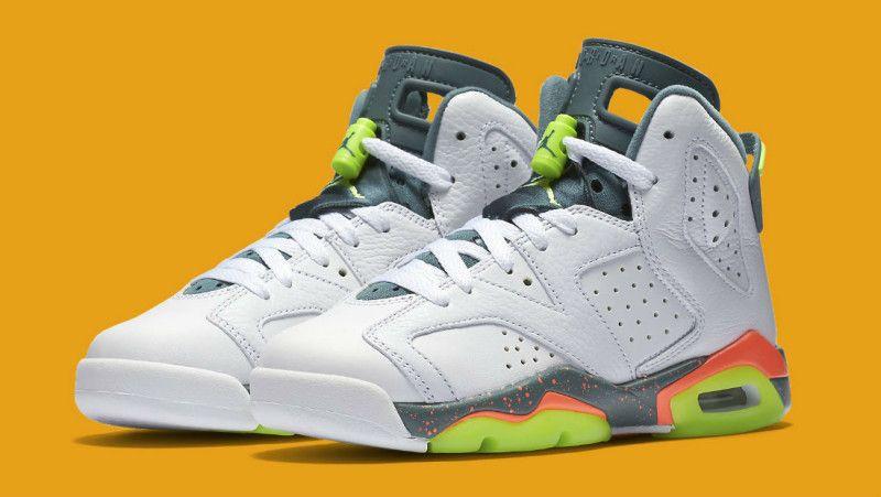 Nike Air Jordan 6 Baskets Rétro Gs Sens