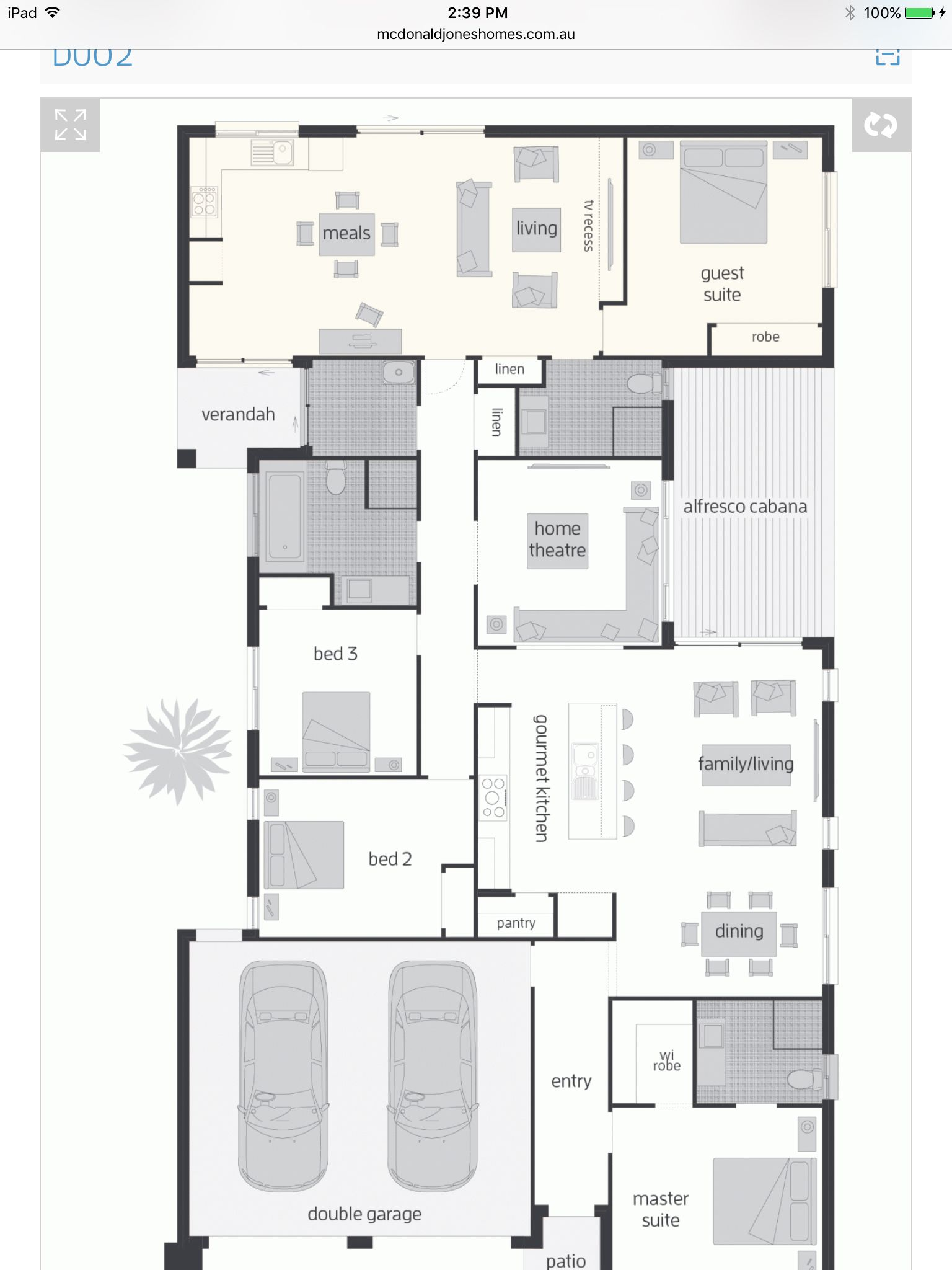 Granny Flat (With images) | House floor plans, 4 bedroom ...