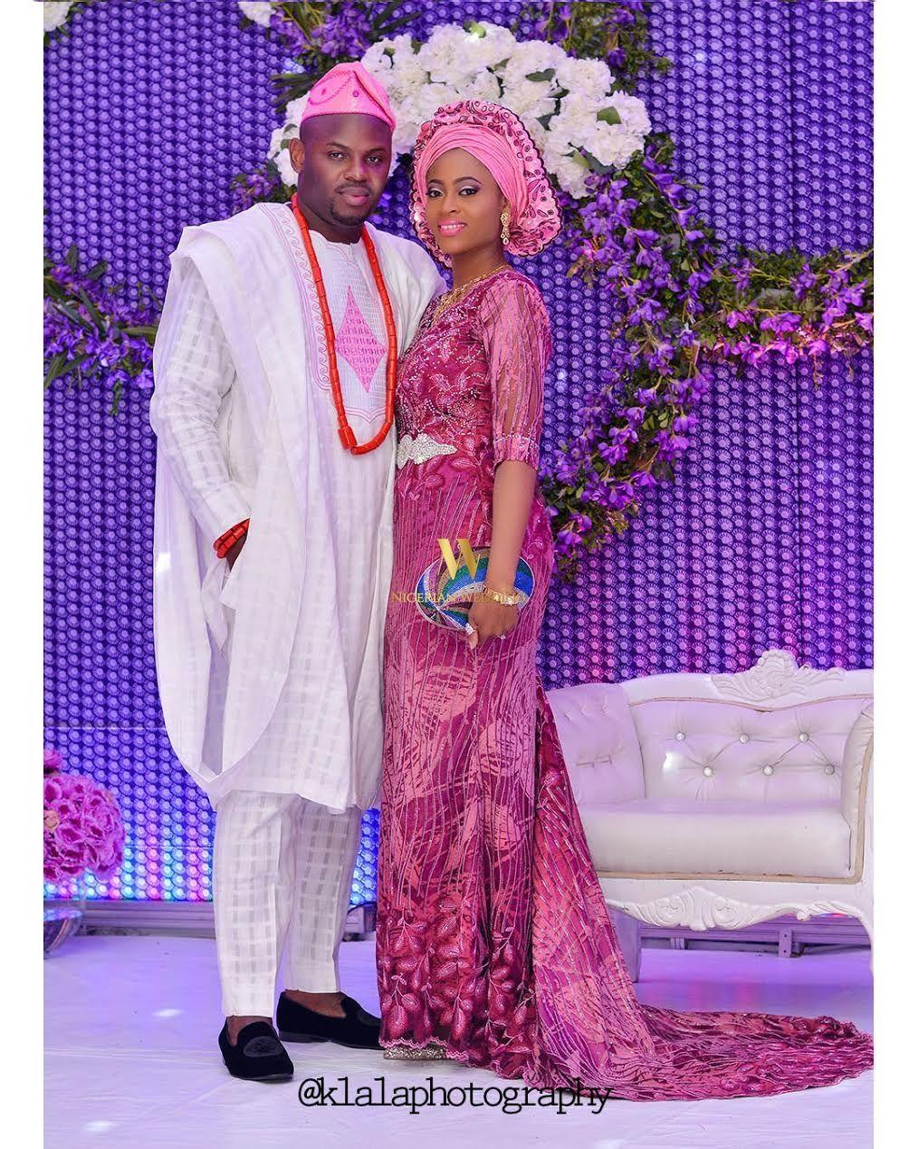 Adetoun & Temitayo Elegant & Colourful Yoruba Wedding | Boda