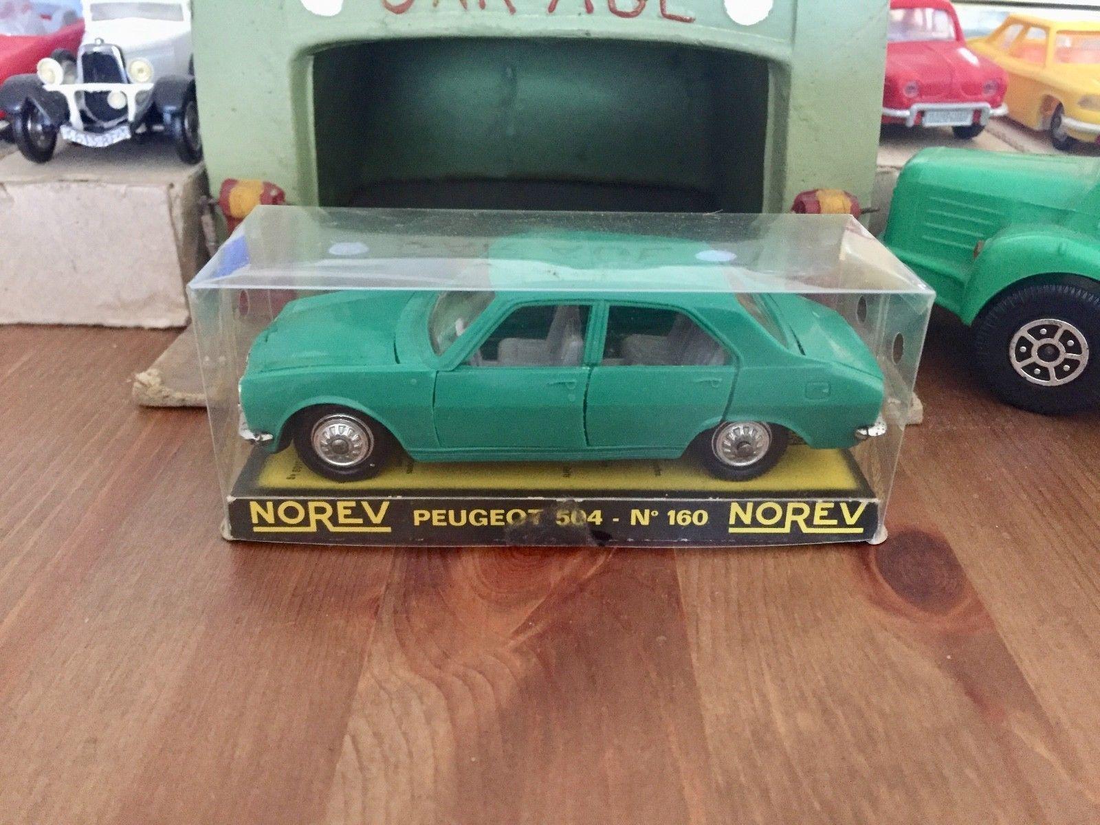 N°160 Plastique 143 Norev Peugeot Ech Ancienne EmeEbay 504 exBdCWro