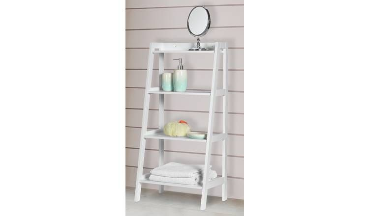 Buy Argos Home Ladder Storage Unit Bathroom Shelves And Storage Units Argos Shelves Ladder Storage Argos Shelves