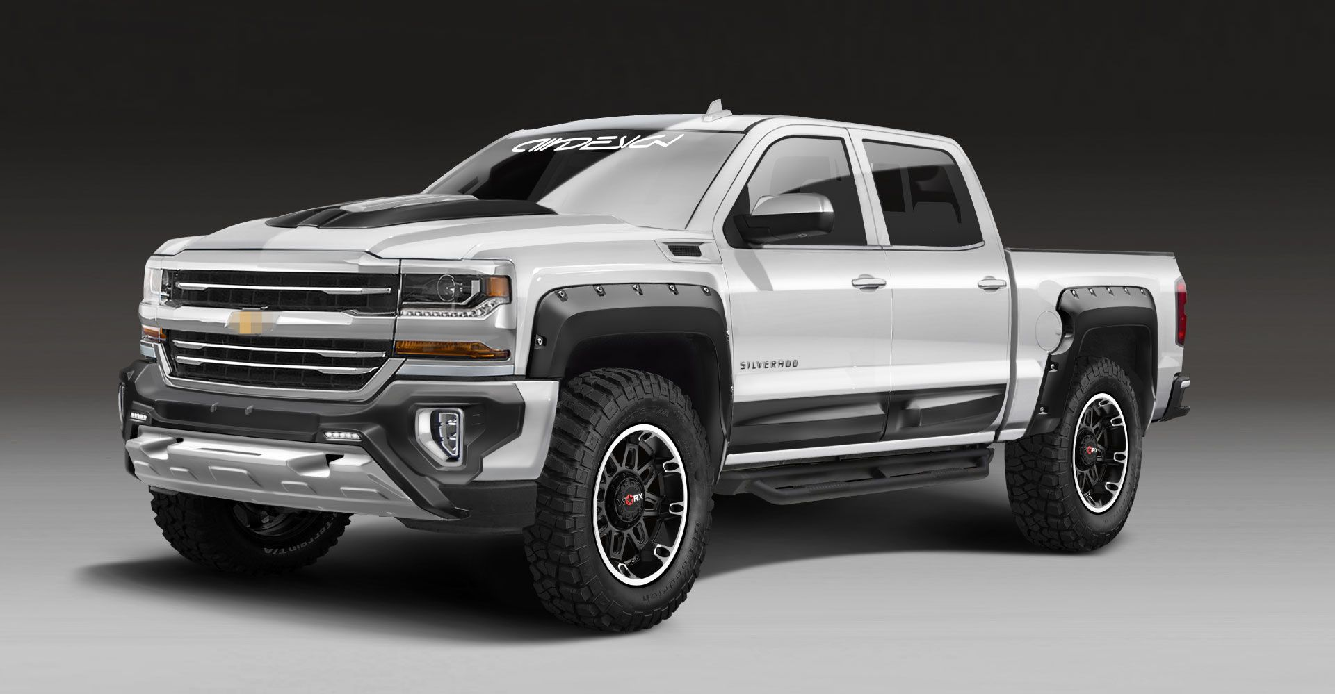 Chevrolet Silverado Air Design Usa The Ultimate Accessories Collection For Off Road And Street Chevrolet Silverado Chevrolet Silverado