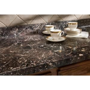 Wilsonart 4 Ft X 8 Ft Laminate Sheet In Breccia Nouvelle With