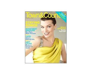 Start a Free 3 Year Subscription to Town & Country Magazine