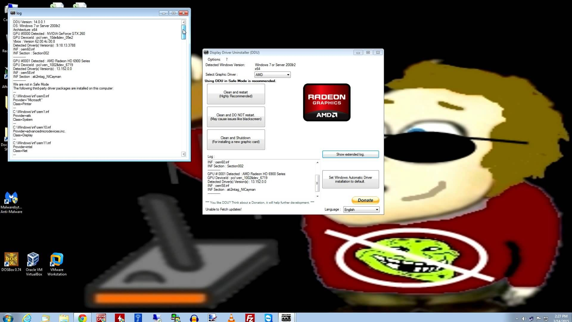 Clean up old video drivers with DDU! | Gaming for old guys