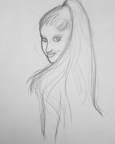 Ariana grande first step ariana grandedrawings