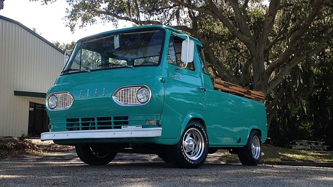 1962 Ford Econoline Pickup Turbo Diesel 5 Window Cab Presented As