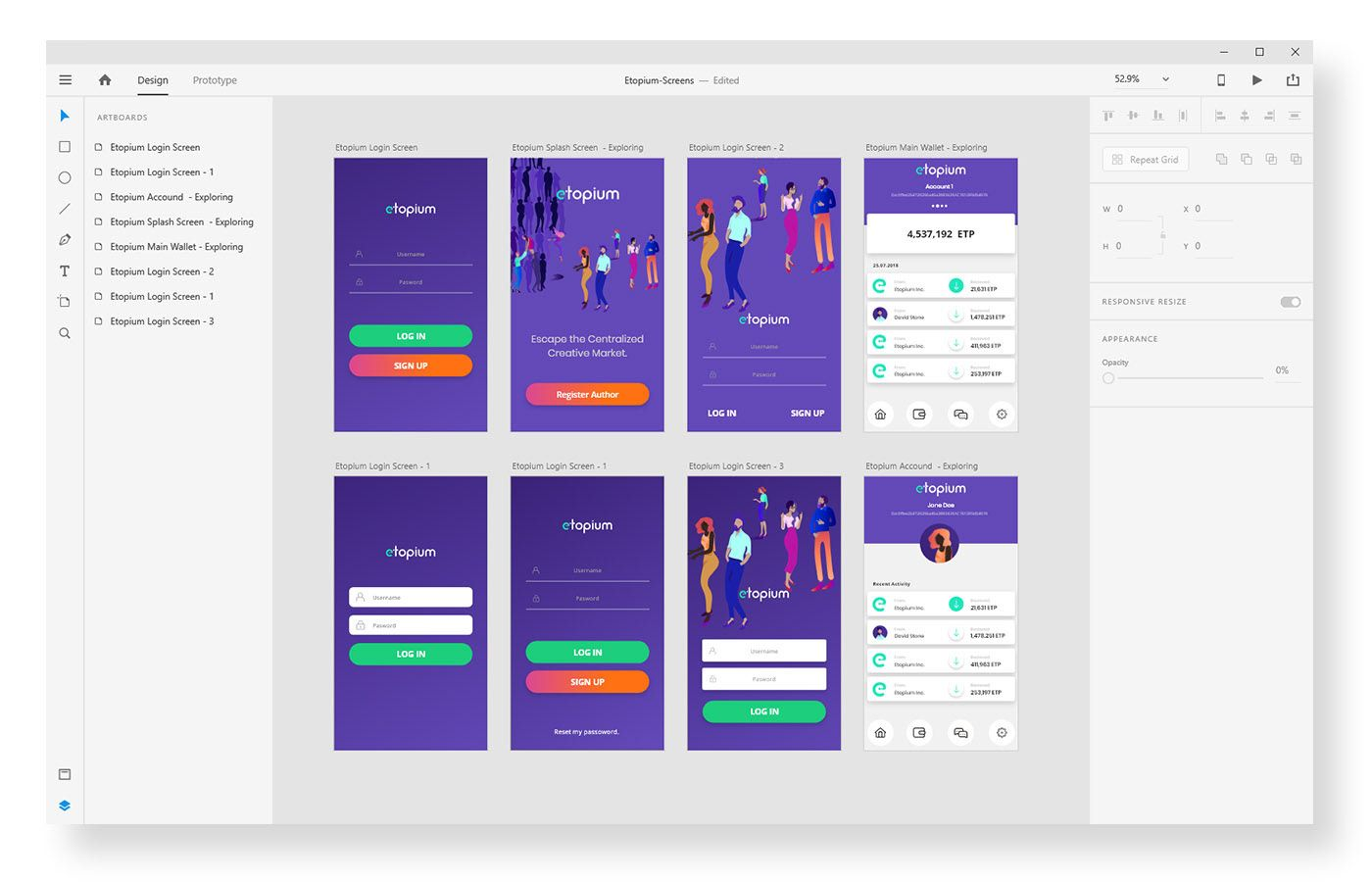2019 Design Trends Guide On Behance Design Trends Web Design Trends Top Design Trends