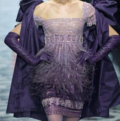Purple Valentino Dress