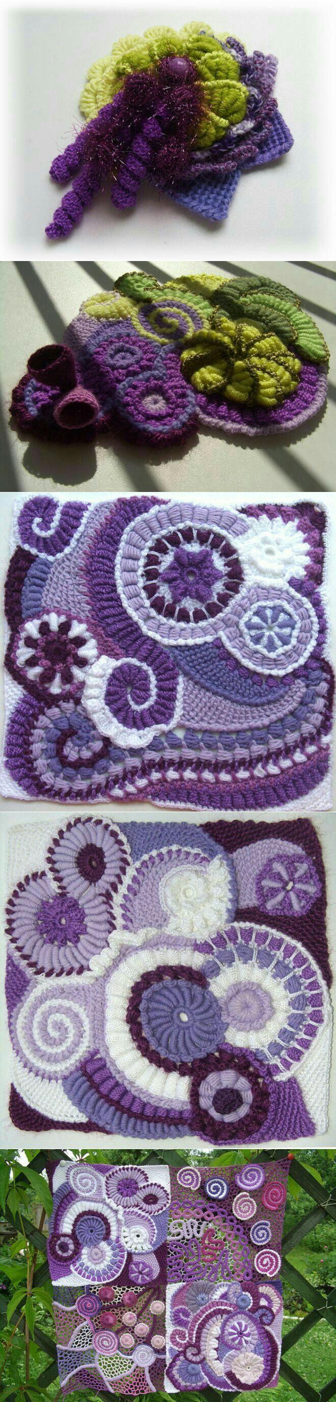 Pin de Lucy Tustian en Crochet stuff! | Pinterest | Tejido, Irlanda ...