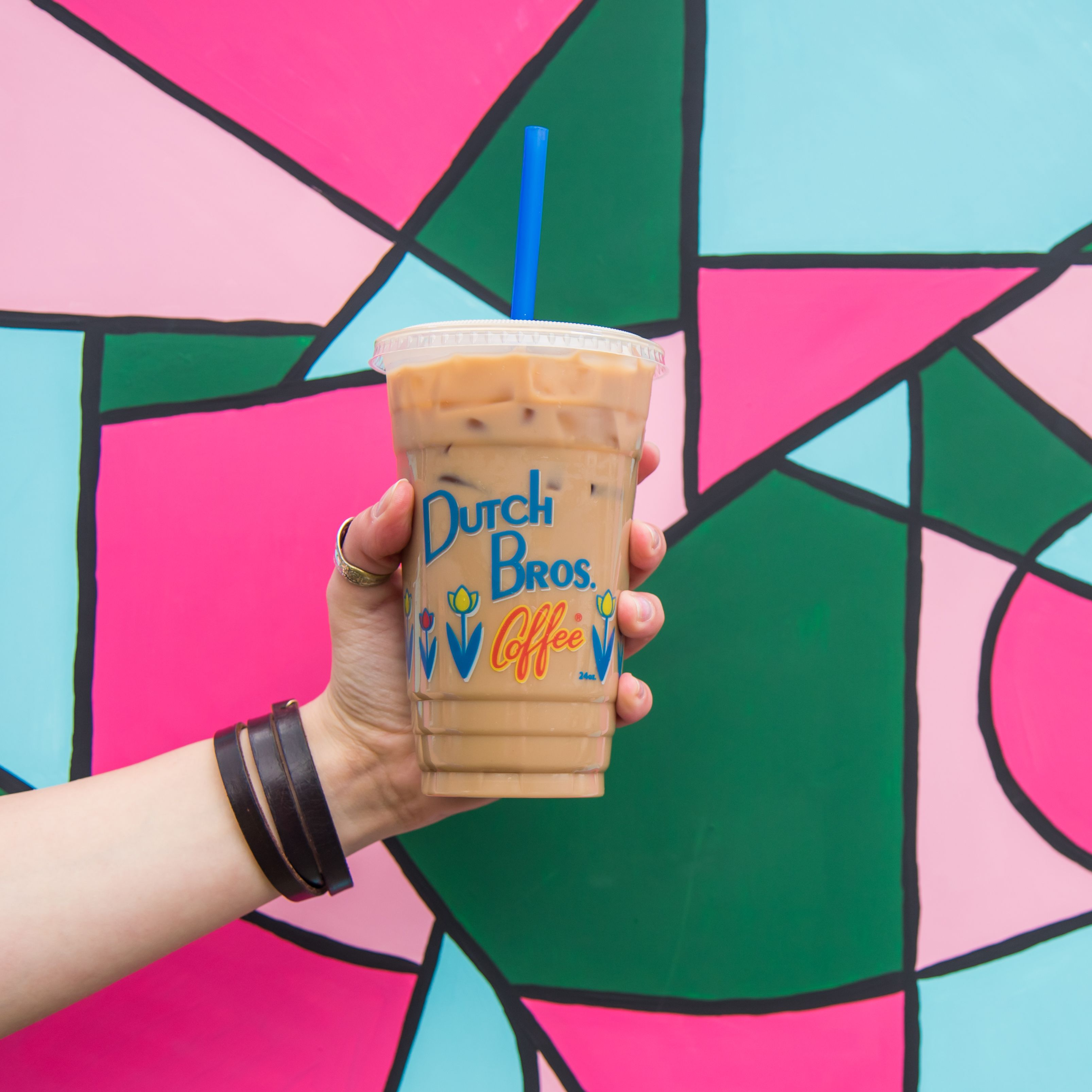Anyone up for an iced almond milk latte on this beautiful