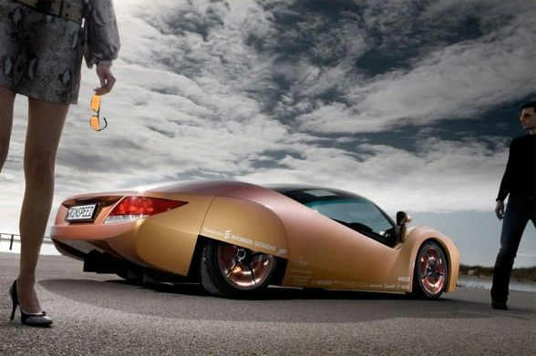 2009 Rinspeed Ichange Concept Rear Angle Picture Cars