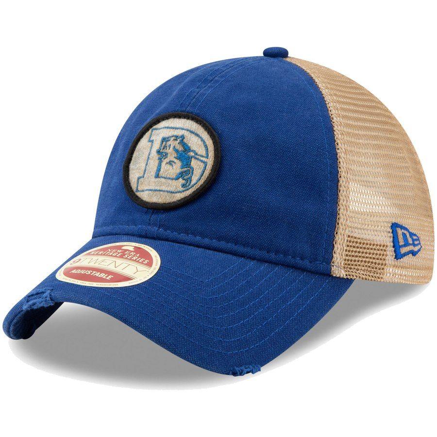 c88ceb43fd6e7 Men s Denver Broncos New Era Royal Omaha Low Profile 59FIFTY Structured Hat