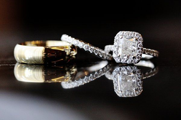 That cushion cut... Love it! Braedon Photography