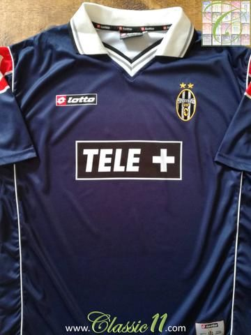 e9861ff51 Relive Juventus  2000 2001 season with this original Lotto 3rd football  shirt.