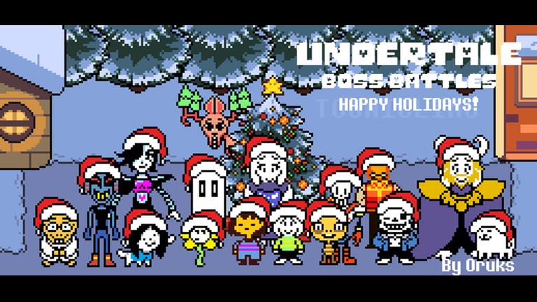 Undertale Christmas.Undertale Boss Battles Roblox Undertale Undertale