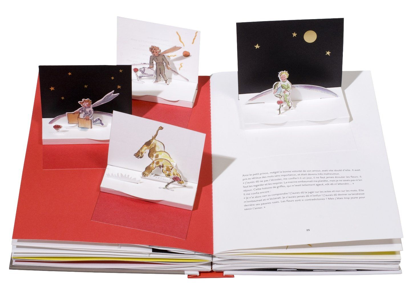 Amazon Fr Le Petit Prince Le Grand Livre Pop Up Antoine