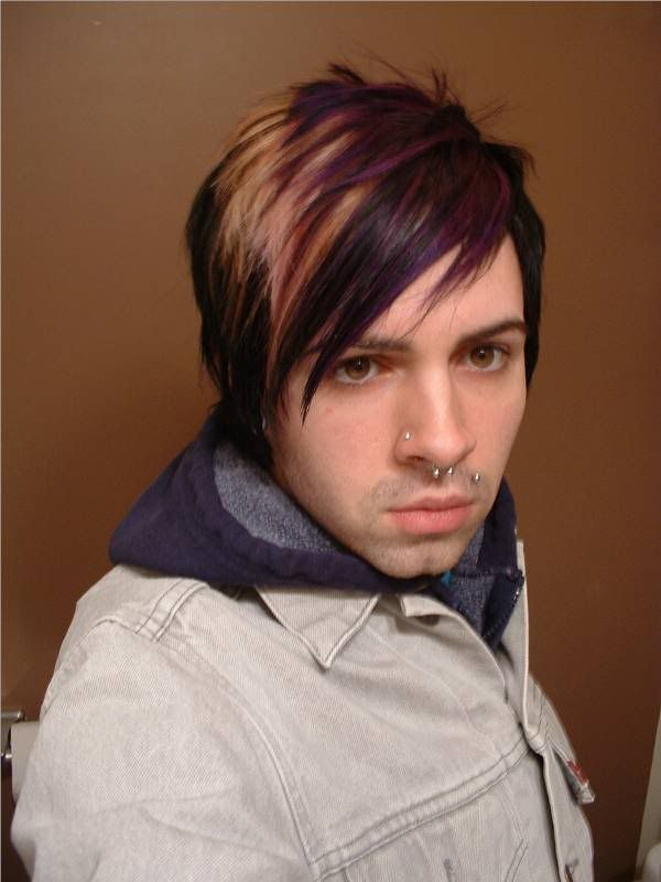 Short Emo Hairstyle For Guys Emo Hairstyles For Guys Short Emo Hair Emo Hair