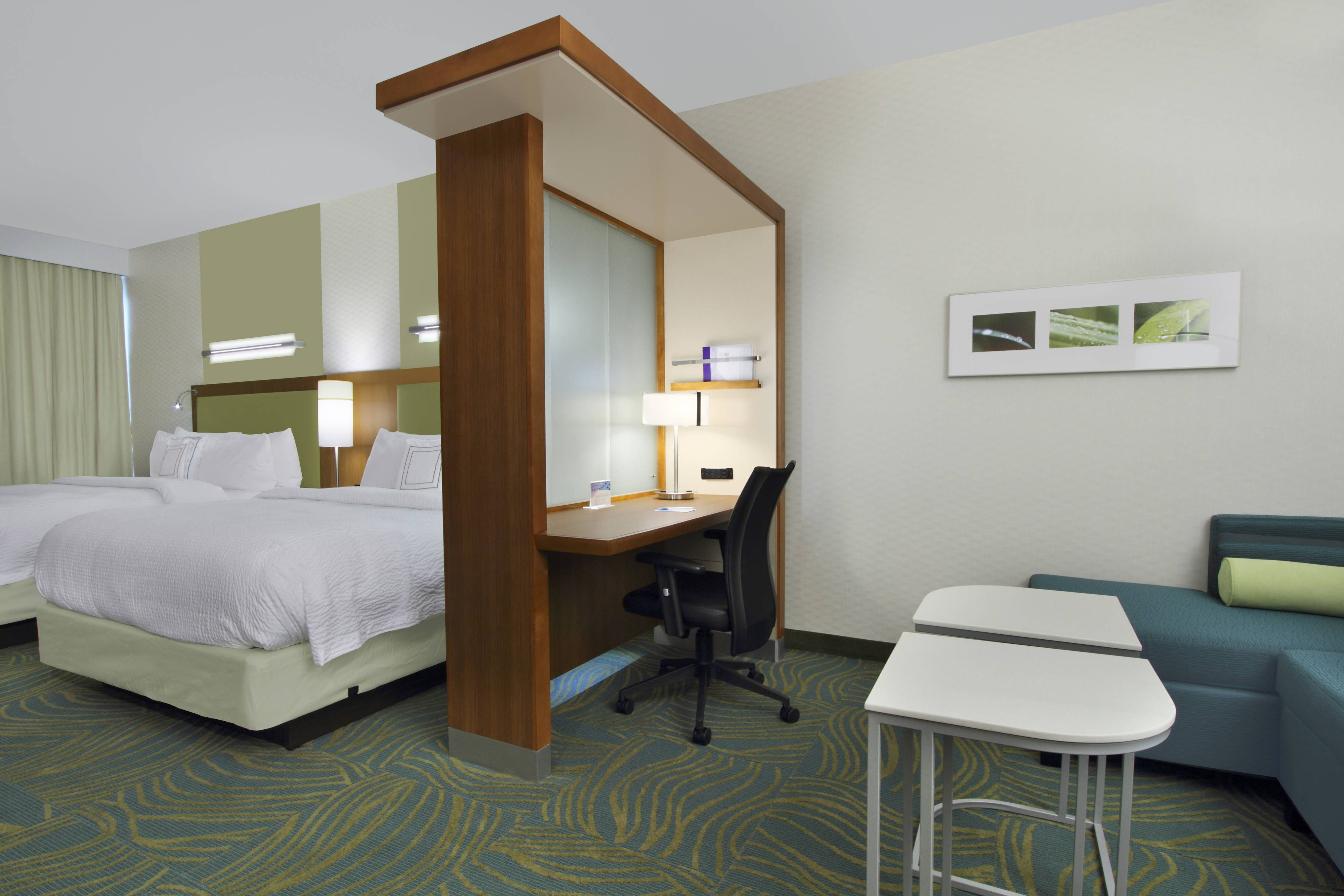 Springhill Suites Houston I 10 West Energy Corridor Queen Queen Suite Comfortable Suite Visiting Suites Springhill Home Decor