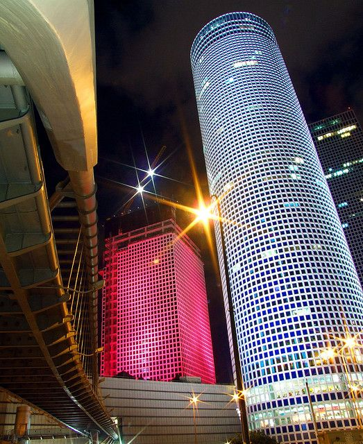 ~Azrieli Towers - Tel Aviv, Israel --> For more #CRE, join us on #Facebook https://www.facebook.com/CPECityPages