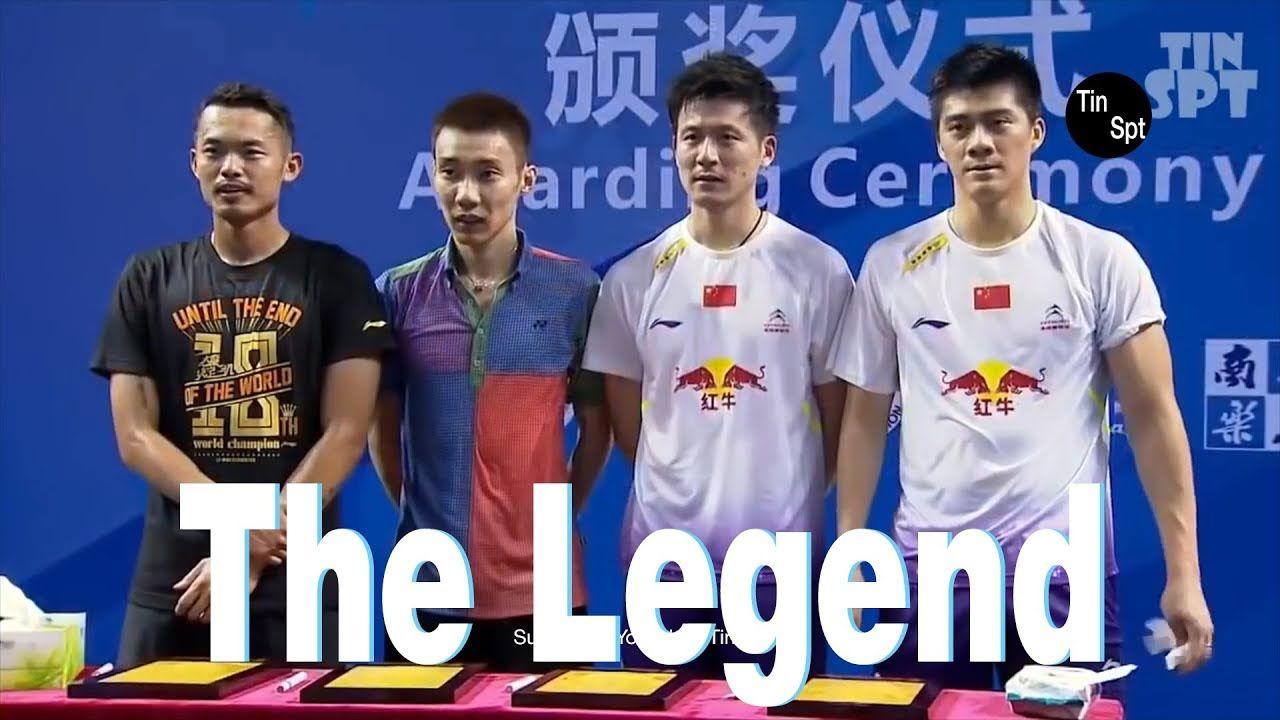Lee Chong Wei Lin Dan Vs Cai Yun Fu Haifeng The Legend Men S