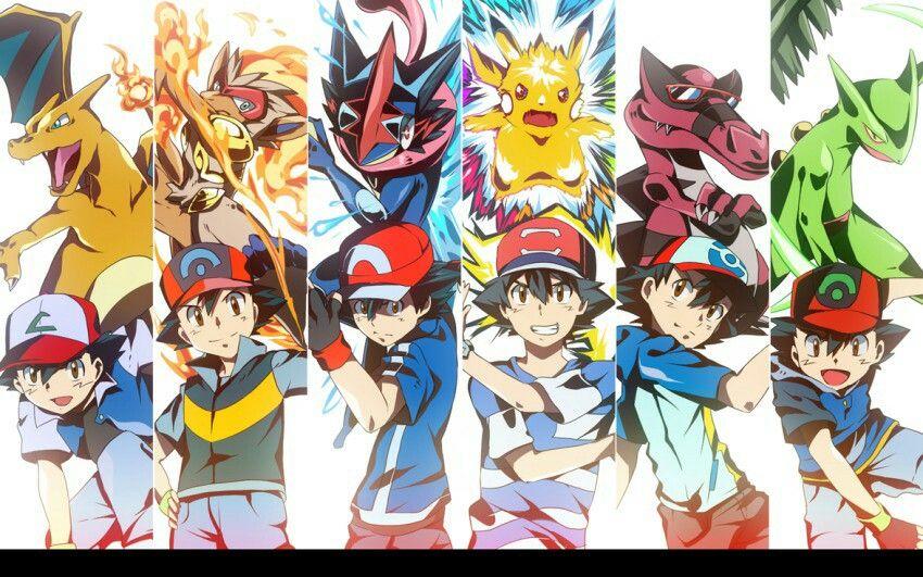 Ash Ketchum Pokemon Ash Pokemon Strongest Pokemon