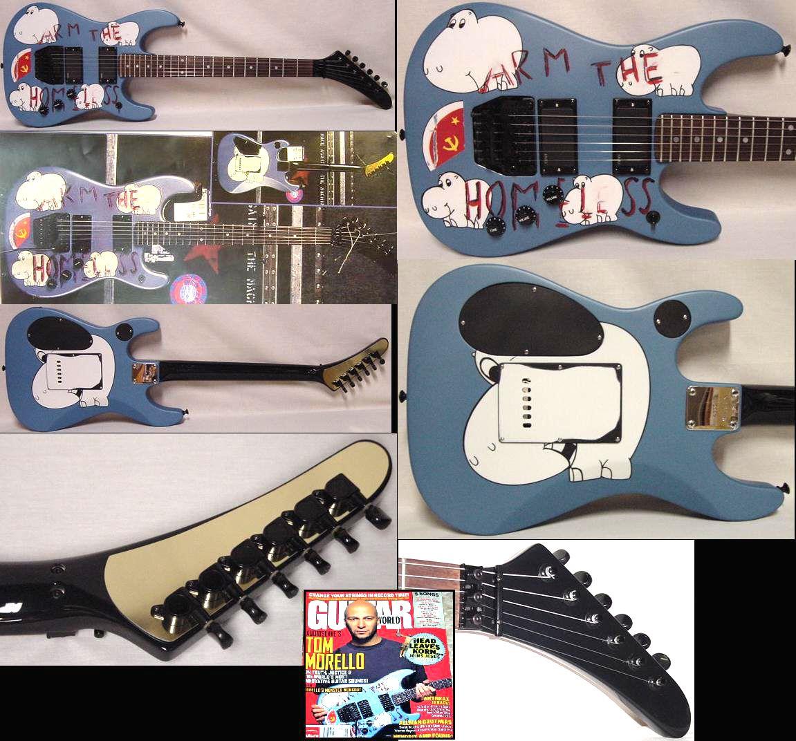 Tom Morello And Hippos Il A Ete Elu Pour La 4 E Fois Consecutive Meilleur Guitariste Au Tom Morello Good Music Custom Build