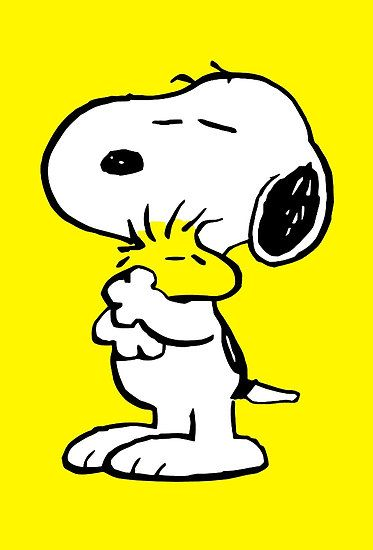 Snoopy and Woodstock by iankingart
