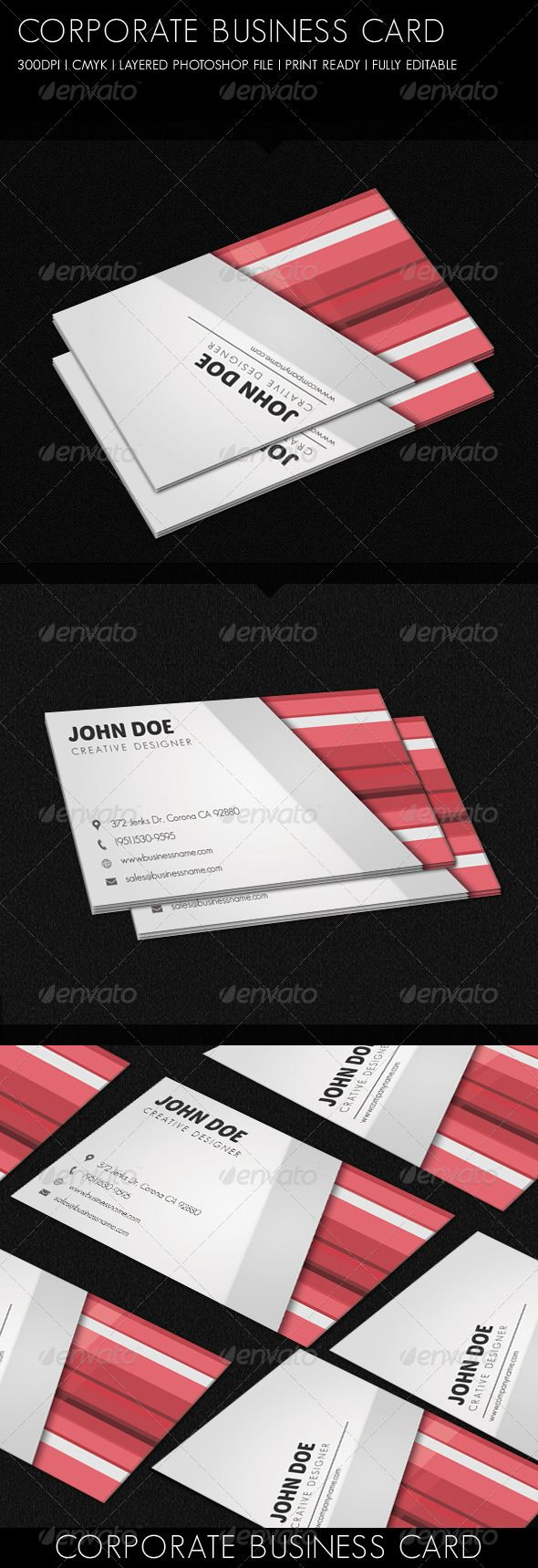 Corporate business card pinterest corporate business business corporate business card corporate company download httpsgraphicriveritemcorporate business card6262585refpxcr reheart Choice Image