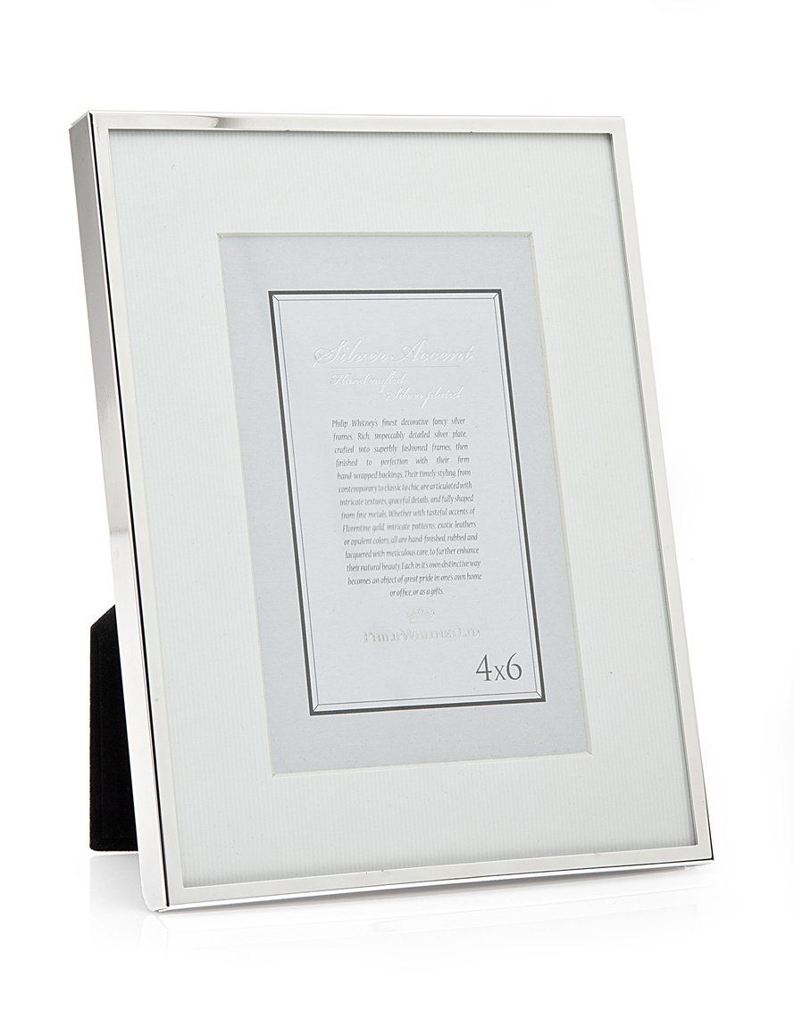 Thin silver 6x84x6 picture frame products pinterest 4x6 thin silver 6x84x6 picture frame jeuxipadfo Image collections