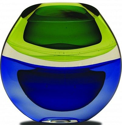 Jamie Harris glass | Jamie Harris: SMALL VEILED INFUSION SCULPTURE | glass