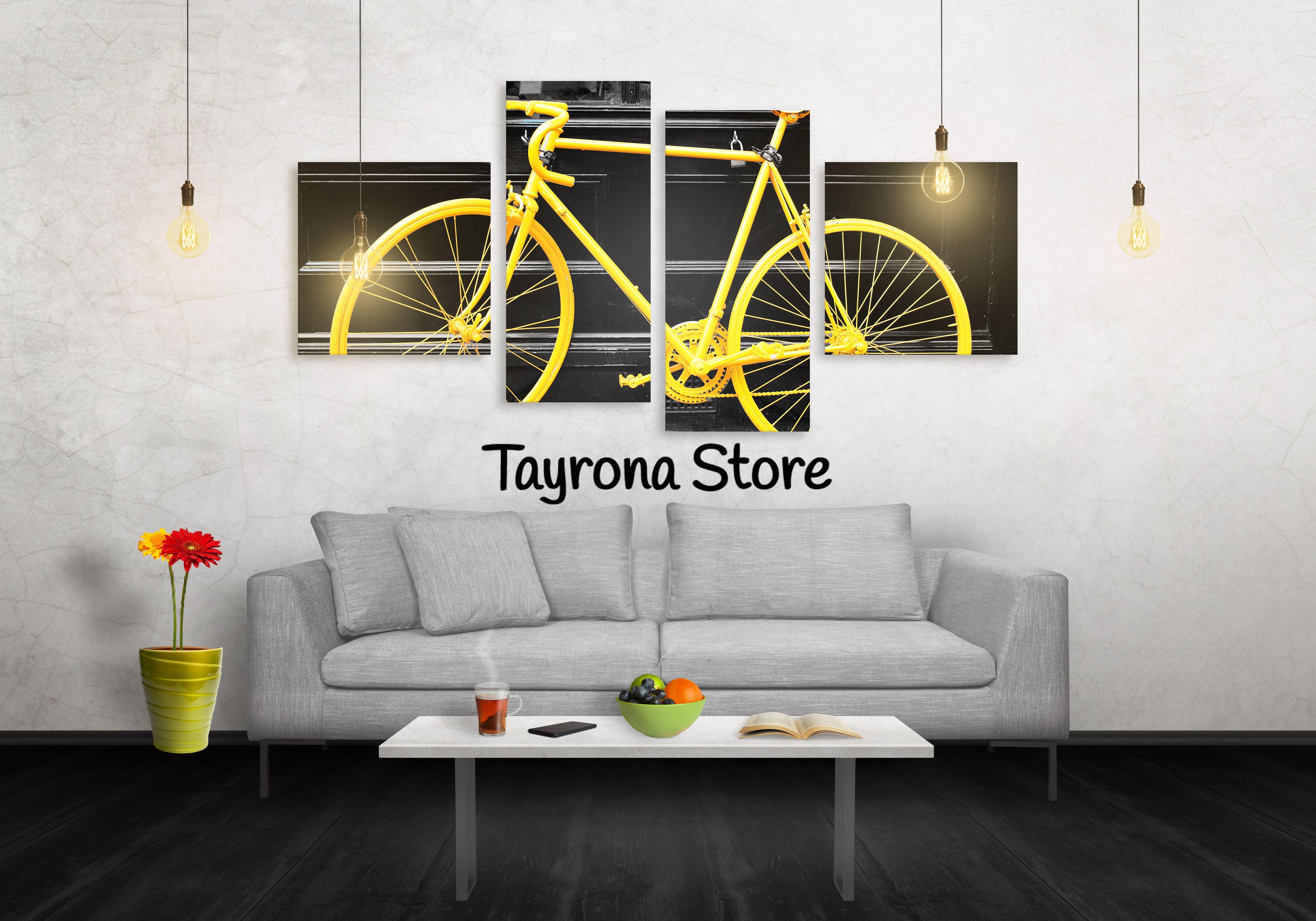 Cuadros decorativos bicicleta vintage 12 tayronastore for Cuadros decorativos clasicos