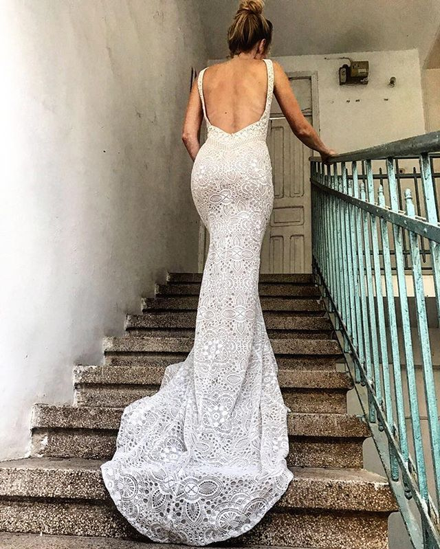 Gorgeous from every angle, Petra from our identity collection. . . . . . #fashionbride #fashionista #reallove #realbride #stylist #stylish #boho #bohochic #couture #youandyourweddingmagazine #silk #lace #love #lovely #fashionblogger #fashionista #instabride #instafashion #instawedding #pinterest #instawedding #futurebride