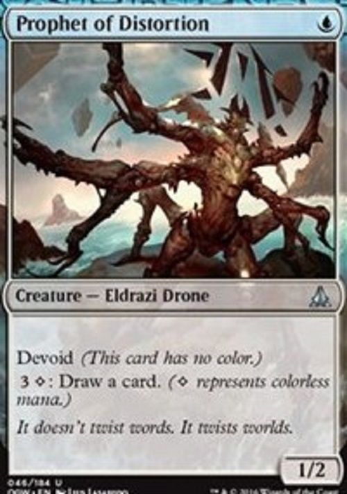 Prophet of Distortion X4 NM Oath of the Gatewatch MTG Magic Cards Blue Uncommon