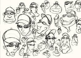 cabeças diferentes
