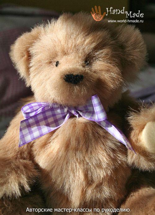 Шьем мишку Тедди - мастер-класс и описание | текстильные куклы ...