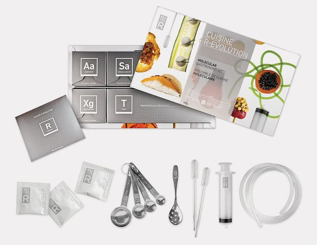 10 Molecule-R DIY molecular gastronomy set A DIY Kit For Doing - molekulare küche set